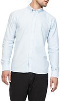 Denham Ford Long Sleeve Shirt, Blue