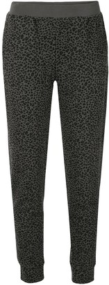 ATM Anthony Thomas Melillo Animal Print Track Pants