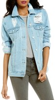 GB Distressed Denim Jean Jacket