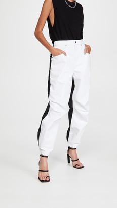 Alexander Wang Pack Mix Hybrid Cargo Jeans