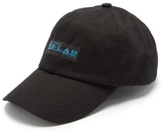 Raf Simons Logo-embroidered Cotton Cap - Black