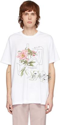 Givenchy White Peony Maze T-Shirt