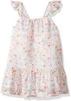 Crazy 8 Baby Toddler Girls' WVN Ditsy Print Flutter Sleeve Dress