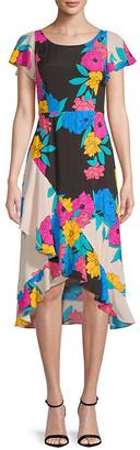 Plenty by Tracy Reese Floral Midi Dress