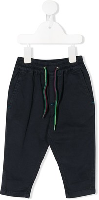 Paul Smith drawstring relaxed chinos