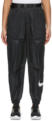 Nike Black Belted Trousers Lounge Pants