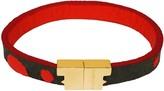 Tissuville Sierra Grey & Red Gold Bracelet
