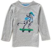 Class Club Adventure Wear by Little Boys 2T-6 Long-Sleeve Dinosaur Shirt