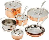 Cuisinart Ctp-11am Copper Tri-ply Stainless Steel Cookware Set