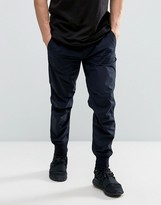 Maharishi Cuffed Chinos In Navy