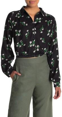 Lush Floral Button Down Shirt
