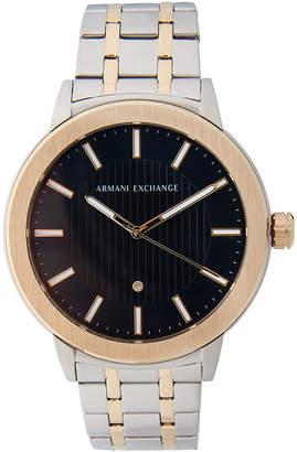 Armani Exchange AX1464 Two-Tone Diamond Watch