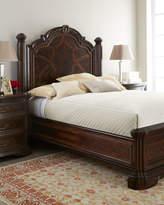 Horchow Colette King Panel Bed Set
