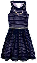 Knitworks Knit Works Sleeveless Skater Dress Girls