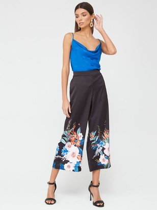 Ted Baker Cowl Detail Cami Top - Blue