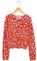 Juicy Couture Girls' Knit Heart Cardigan
