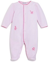 Kissy Kissy Infant Girls' Velour Jungle Animal Footie - Sizes Newborn-9 Months