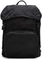 Valentino Black Camo Jacquard Backpack