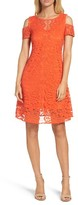 Gabby Skye Women's Lace Cold Shoulder Dress