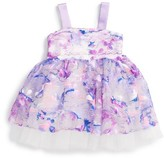 Halabaloo Infant Girl's Confetti Fit & Flare Dress