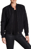 Blvd Quilted Bomber Jacket