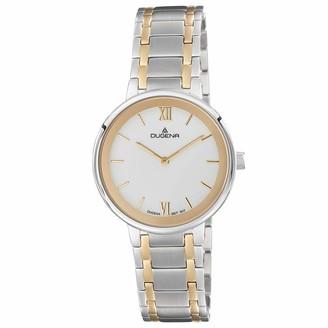 Dugena Women Analogue Quartz Watch with Stainless Steel Strap 4460997