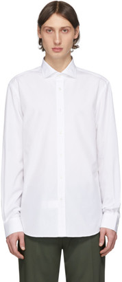 Ralph Lauren Purple Label White Poplin Shirt