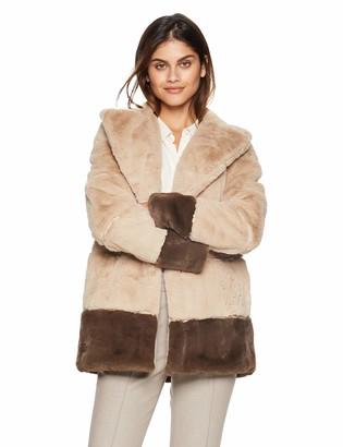 Rachel Roy Women's Faux Fur Coat