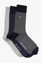 Sambit Mini Stripe 3 Pack Socks