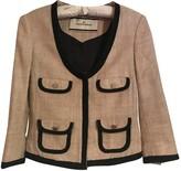 By Malene Birger Beige Silk Jacket for Women