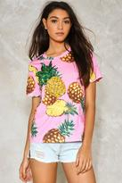 Nasty Gal nastygal Tropic Pineapple Tee