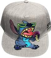 Disney Men's Stitch Full Body Baseball Cap, Flat Brim, Adjustable Hat,