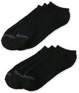 Reebok 6-Pack Basic Solid No Show Socks