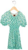 Missoni Girls' Patterned Open Knit Dress