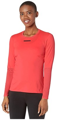 Craft Vent Mesh Long Sleeve Tee (Shock) Women's Clothing