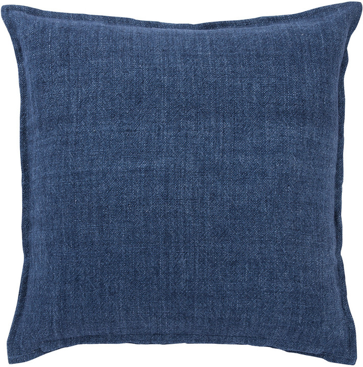 Jaipur Living Blanche Solid Blue Throw Pillow