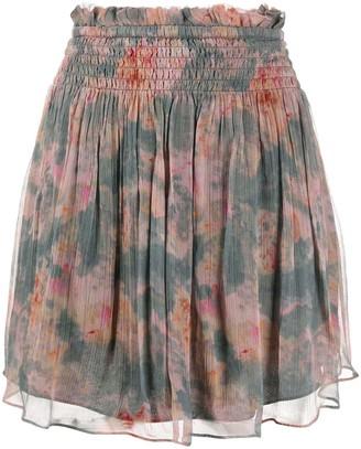 IRO Vintage Print Mini Skirt