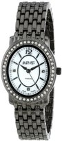 August Steiner Women's AS8043BK Dazzling Diamond Oval Bracelet Watch