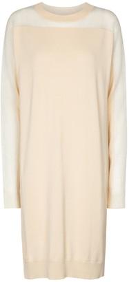 Maison Margiela Cotton-blend sweater dress