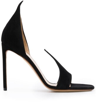 Francesco Russo Slip-On Stiletto Sandals