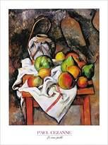 Cezanne 1art1 Posters: Paul Poster Art Print - Le Vase Paille (32 x 24 inches)