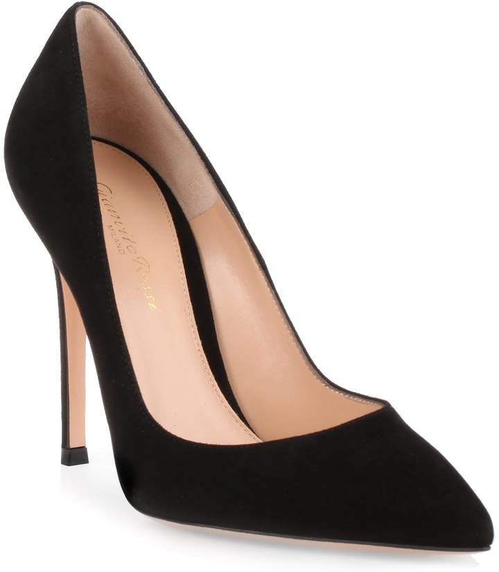 Gianvito Rossi Gianvito 105 black suede pump