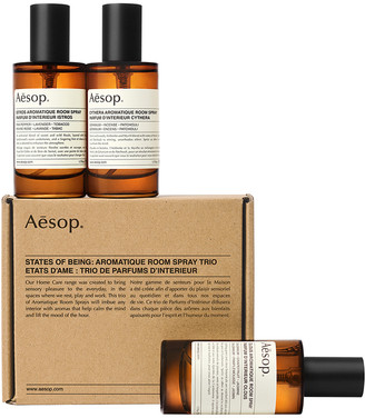 Aesop Room Sprays Trio in Istros, Cynthera & Olous | FWRD