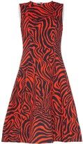 Calvin Klein Sleeveless Printed Midi-Dress
