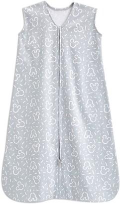Halo Disney Baby Mickey Mouse SleepSack Gray Confetti Mickey Swaddle - Medium