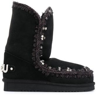 Mou Eskimo star-studded boots