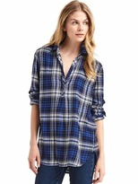 Gap Soft plaid tunic