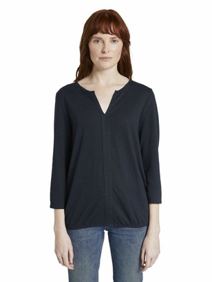 Tom Tailor Women's Blusenshirt T-Shirt