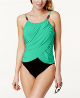 Magicsuit Draped Tummy-Control One-Piece Swimsuit