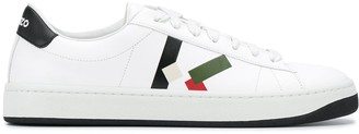 Kenzo Embroidered Logo Low-Top Sneakers